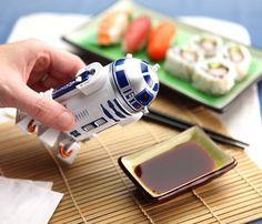 R2-D2 Soy Sauce Dispenser #gadget