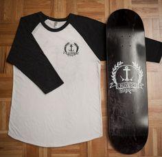 Gabriel Lavallée — Designer graphique » Blog Archive » Identité Universe #universe #clothing #logo #boardshop #skateboard #anchor