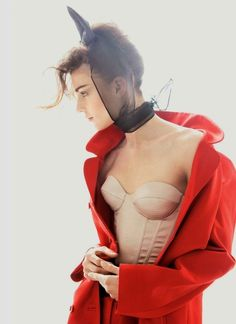 Kati Nescher by Patrick Demarchelier #sexy #model #red #girl #photography #fashion