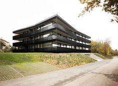 Saint-Sulpice Apartments by FHV #form #building #architecture