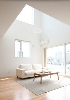 Living in the Form of Thinking, Muji Home | OEN #interior #muji