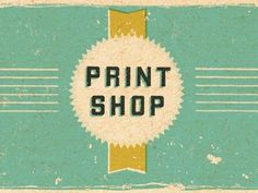 Print Shop #wallace #dustin