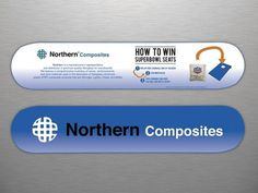 (1) Northern Composites #steel #designs #branding #northern #graphic #info #plastic #logo #layout