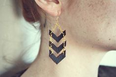 Today I Love Moorea Seal | papernstitch #fashion #diy #earring