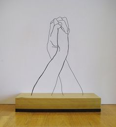 Gavin Worth | iGNANT #sculpture #worth #gavin #wire #art