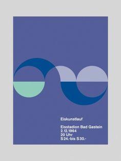 Eiskunstlauf - Otl Aicher #design #graphic #poster
