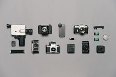 moment lens co #inspiration #creative #knolling #examples #photography #knoll #organization