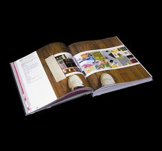 BIS - BRITISH DESIGN ANNUAL on the Behance Network #mirrorboard #print #design #book #flocking #special #finishes