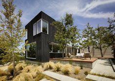 This Los Gatos Modern Home Has Shou Sugi Ban Style Exteriors