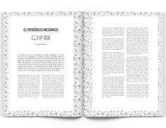 MagSpreads Magazine Design and Editorial Inspiration: Jot Down Contemporary culture mag #layout #spread #magazine