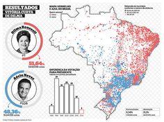 resultados Brasil 2ª volta WEB #infographics #infografias