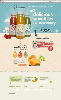 Realigning Innocent drinks | Mike Kus #website #innocent #redesign