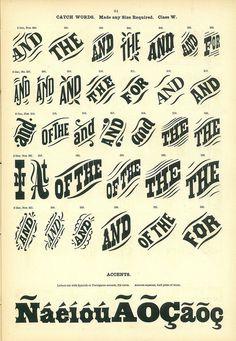 Catchwords #catchword #typography