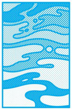 Pop Camo Art Print by Joe Van Wetering   Society6