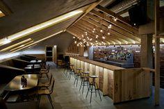 ATTIC bar by Inblum Architects, Minsk Belarus hotels and restaurants #interior