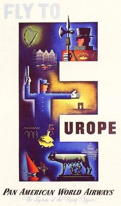 Pan Am Posters   webexpedition18 #vintage