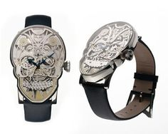 Anatomic Fashion Friday: Momento Mori Watch at Street Anatomy #skull #watch