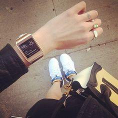 Samsung Galaxy Gear Smartwatch #gadget #watch
