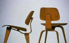 Charles & Ray Eames Plywood Chair - Design Museum #chair #ray #plywood #charles #eames