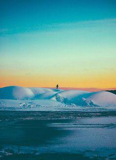 Afternoon. #sweden #nordic #landscape #stockholm #winter