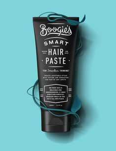 HairPaste_Blue.jpg #packaging