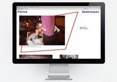 HelloMe — Patrick Desbrosses #identity #till #web #wiedeck #desbrosses