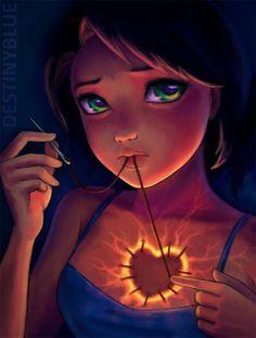 Anime Art by Alice de Ste Croix #ste #croix #de #alice #anime #art