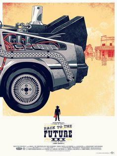 Phantom City Creative | Back To The Future Trilogy #the #illustration #back #poster #future #to