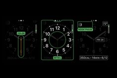 Apple Watch GUI Design #watch