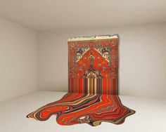 Amazing Carpets by Faig Ahmed #inspiration #carpets #art