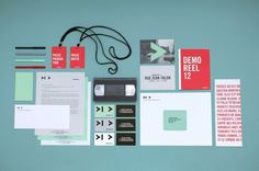 PASSEZ GO on the Behance Network #red #motion #video #brand #green