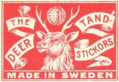 vintage matchbook branding