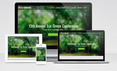 EcoGreen : Free Responsive Non Profit Landing Page Template