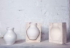 Apparatu - mould #design #furniture #interior #plaster #vase #mould