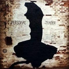 PERSONAL TRAINER | Gaucholadri #gaucholadri #streetart #argentina #trainer #personal