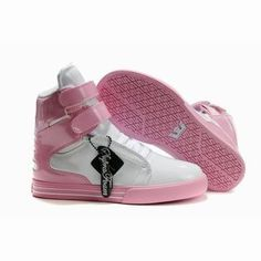 women white pink supra tk society high top trainers #shoe