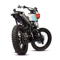 DIRTY GEISHA: MARIA'S YAMAHA XT600 #bike #motorcycle