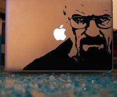 Breaking Bad Mac Decal #decal #macbook #sticker #gadget