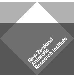 The New Zealand Antarctic Research Institute Logo and Identity #logo #bauhaus #geometry #iceberg