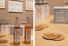 Narwhal Craft Soda Branding and Packaging #narwhal #packaging #campaign #brand #identity #vintage #bottles #nautical