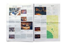 Printed Broadsheet: Studio Round | PROCESS JOURNAL #print #design #graphic #newspaper #magazine