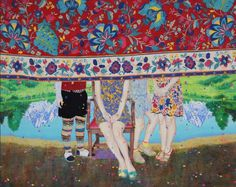 Naomi Okubo | PICDIT #design #art #painting #pattern #color #colour