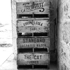 Malta Type Boxes #malta #crates #boxes #wood #type