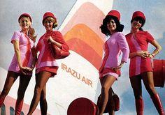 Dark Roasted Blend: The Glamour of Flight, Part 1 - Sexy Flight Attendants
