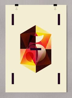 Área Visual: La geometría de Alberto Carballido #poster #design #graphic #art
