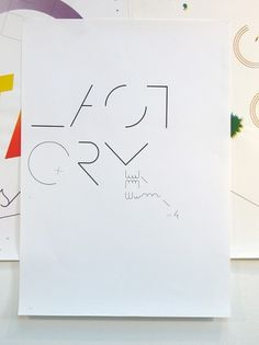 Felix Weigand - Last Cry, Poster, 2005 #graphic #poster #typography