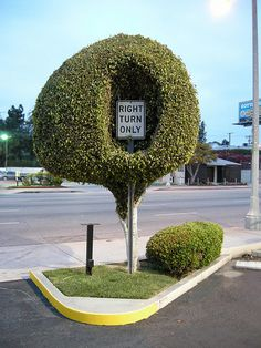 CJWHO ™ (Turn Right by Zach Gibson Zach Gibson is a...) #art #architecture #sculpture #sign #nature #turn right