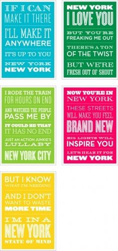 head vs. heart » #new #york #typography