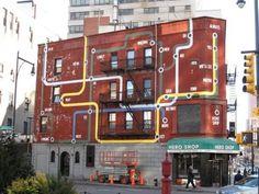 The Latest in Street Art | twelve21gallery #facade #graffiti #building #art #street
