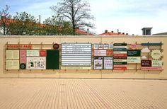 Byggstudio #information #public #park #malm #signage #folkets #malmo #futura #navigation
